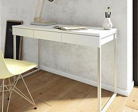 Pisalna miza 15 Barva bela, siva
