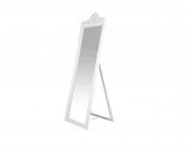 Ogledalo Salerno 45x5x170 cm Barva bela mat