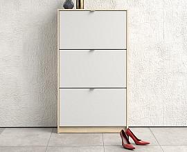 Omarica za čevlje Function 11 Barva hrast,bela barva
