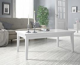 Klubska miza Florence Barva bela