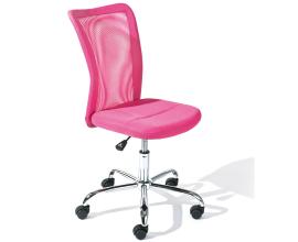 Pisarniški stol Kali, barva roza