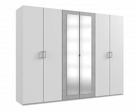 Omara Porto 6 klasičnih vrat, 270 cm Barva bela