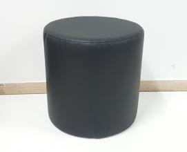 Tabure umetno usnje, barva črna