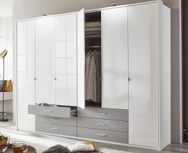 Omara Alicante 273 cm, Barva bela visoki sijaj, siva