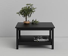 Klubska miza Amalfi Barva črna