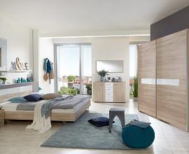 Komplet spalnica Arizona 160x200, Barva hrast