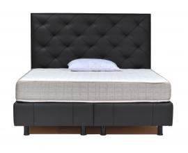 Postelja z dvižnim dnom in predalom Excellance, 160x200 Barva črna