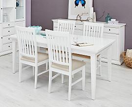 Jedilna miza Florence 180 / 275 cm Barva bela, raztegljiva