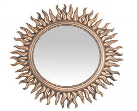 Ogledalo Modica fi 53 cm Barva zlata