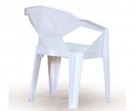 Stol Kubus 02, Barva bela