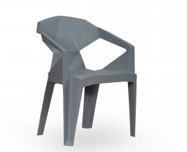 Stol Kubus 01, Barva siva