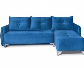 Sedežna garnitura Leonardo Barva Modra, leva ali desna postavitev