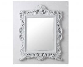 Ogledalo Megi 40.5x50 cm Barva Bela