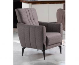 Fotelj Monaco Barva rjava / VZMETEN