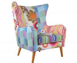 Fotelj Patchwork 03 Multicolour