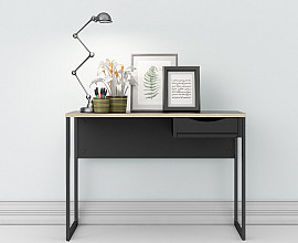 Pisalna miza 36 Barva črna, hrast