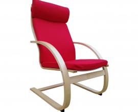 Fotelj Relax 03 Barva rdeča