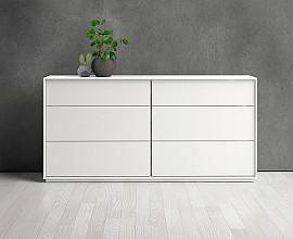 Predalnik Stockholm Barva bela