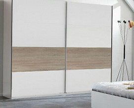 Omara Taylor 2 vrata, 225 cm, Barva bela, kanadski hrast