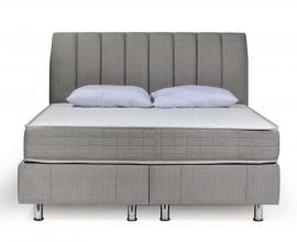 Postelja z dvižnim dnom in predalom Therapy, 160x200 Barva siva