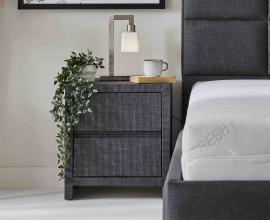 Nočna omarica Trendy 1, Barva siva