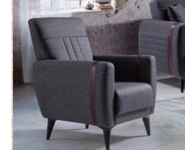 Fotelj Varese Barva siva / VZMETEN