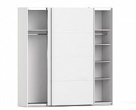 Omara Verona 2 vrata, 5 polic, 180 cm Barva bela