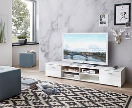 Tv element Bonn 01 Barva bela visoki sijaj