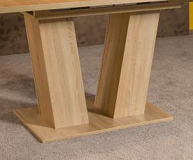 Jedilna miza Karpatos raztegljiva