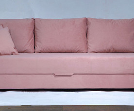 Sedežna garnitura Korzika barva antik roza, leva ali desna postavitev