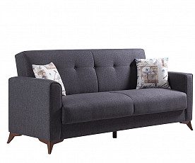 Sedežna garnitura Loreto 3+2 Barva siva / VZMETENO