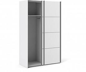 Omara Verona 2 vrata, 122 cm Barva bela