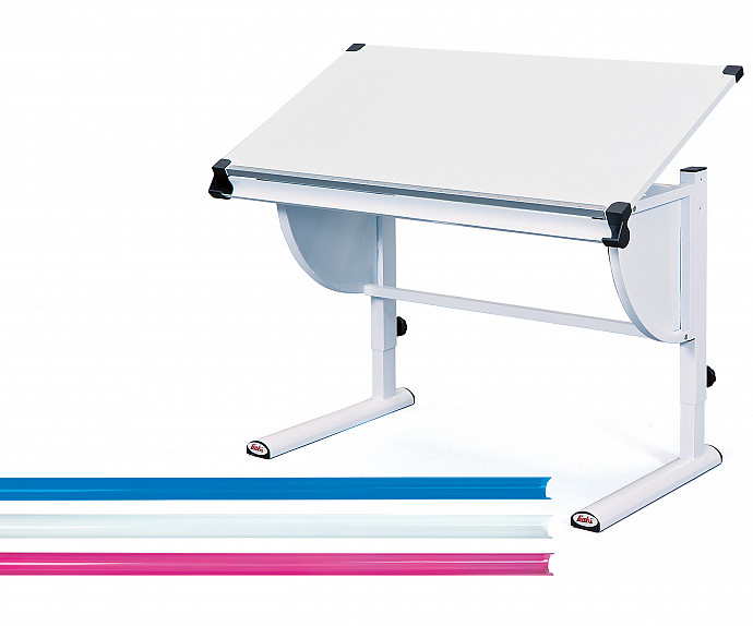 Pisalna miza Anders, Barva bela
